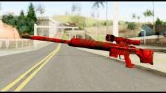 Sniper Rifle with Blood für GTA San Andreas