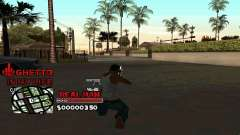 C-HUD Real Man für GTA San Andreas