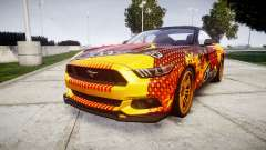 Ford Mustang GT 2015 Custom Kit alpinestars