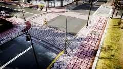 La Texture des routes en haute définition 2014 v