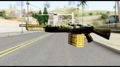 M63 from Metal Gear Solid pour GTA San Andreas