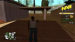 C-HUD NAVI für GTA San Andreas