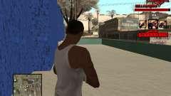 C-HUD Raisers für GTA San Andreas