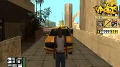 C-HUD Los Santos Vagos Gang pour GTA San Andreas