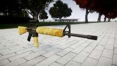 Die M16A2 Gewehr [optisch] gold