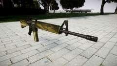 Le M16A2 fusil flore