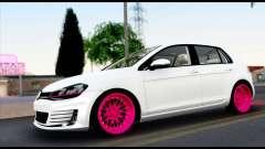 Volkswagen Golf 7 für GTA San Andreas