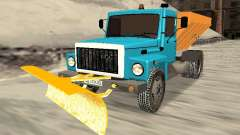 GAZ 3309 Schnee