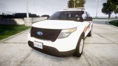 Ford Explorer 2013 Police Interceptor [ELS] für GTA 4