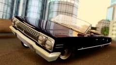 Chevrolet Impala 1963 pour GTA San Andreas