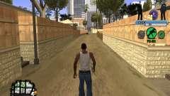 C-HUD FBI für GTA San Andreas