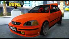 Honda Civic HB (JDM Family) für GTA San Andreas