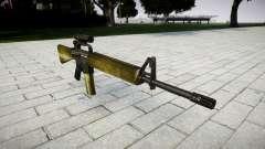 Le M16A2 fusil [optique] d'olive