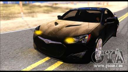Hyundai Genesis Coupe 3.8 2013 pour GTA San Andreas