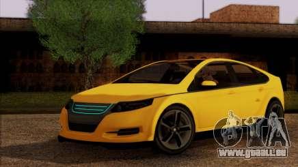 Cheval Surge 1.1 (IVF) pour GTA San Andreas