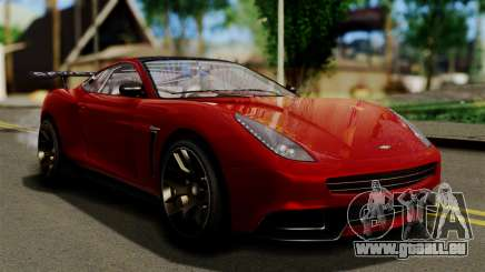 GTA 5 Dewbauchee Massacro Racecar (IVF) pour GTA San Andreas