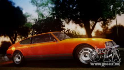 GTA 5 Lampadati Pigalle SA Plate pour GTA San Andreas