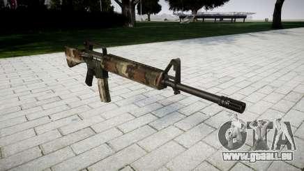 Le M16A2 fusil erdl pour GTA 4
