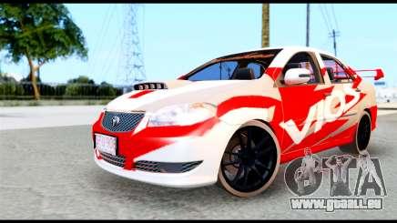 Toyota Vios TRD Racing für GTA San Andreas