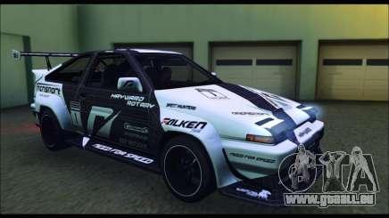 Toyota Corolla Trueno Team DMAC pour GTA San Andreas
