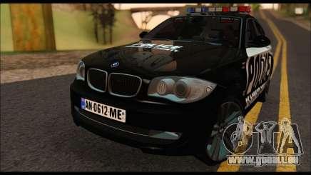 BMW 120i USA Police für GTA San Andreas