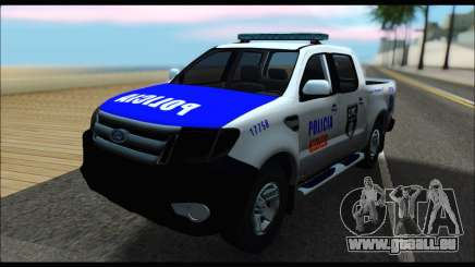Ford Ranger P.B.A 2015 Text4 pour GTA San Andreas
