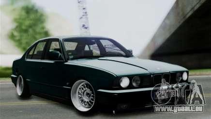 BMW 525 E34 Rims pour GTA San Andreas