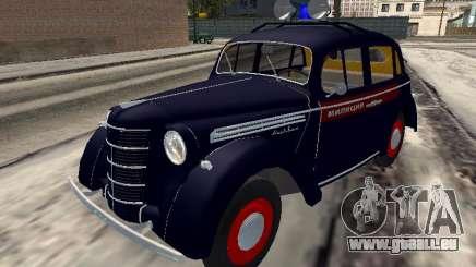 Moskwitsch 400 Polizei für GTA San Andreas