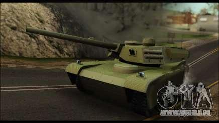Retextured Rhino Tank pour GTA San Andreas