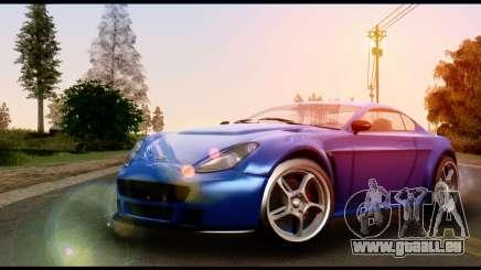 GTA 5 Dewbauchee Rapid GT Coupe [HQLM] für GTA San Andreas