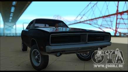 Dodge charger RT rigide pour GTA San Andreas