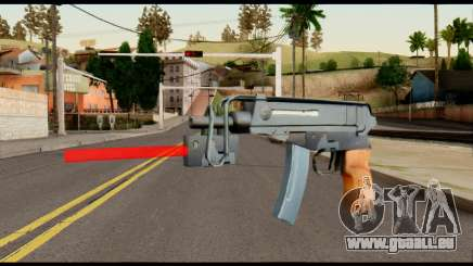 Scorpion from Metal Gear Solid pour GTA San Andreas