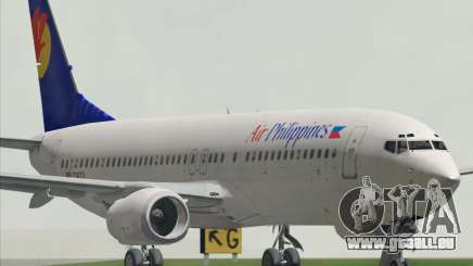 Boeing 737-800 Air Philippines pour GTA San Andreas