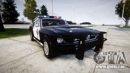 Ford Shelby GT500 Eleanor Police [ELS] für GTA 4