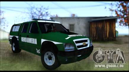 Chevrolet S-10 Gendarmeria pour GTA San Andreas