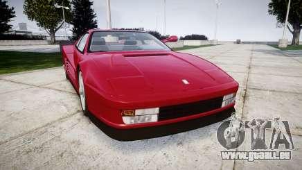 Ferrari Testarossa 1986 v1.2 [EPM] pour GTA 4