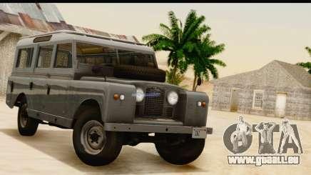 Land Rover Series IIa LWB Wagon 1962-1971 [IVF] pour GTA San Andreas