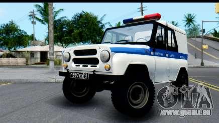 UAZ 469 VAI pour GTA San Andreas