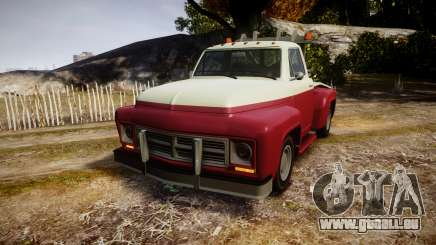 Vapid Towtruck Restored stripeless tires für GTA 4