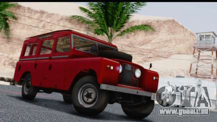 Land Rover Series IIa LWB Wagon 1962-1971 pour GTA San Andreas