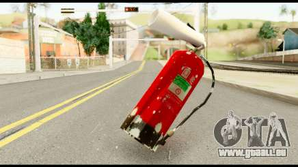 Fire Extinguisher with Blood pour GTA San Andreas