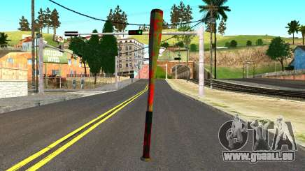 Baseball Bat with Blood für GTA San Andreas