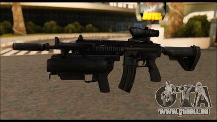 HK416 M320 Devgru pour GTA San Andreas