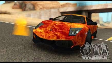 Lamborghini Murcielago In Flames pour GTA San Andreas