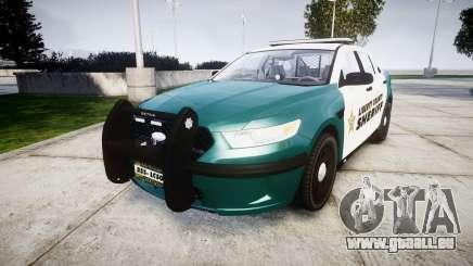 Ford Taurus 2014 LCSO [ELS] pour GTA 4