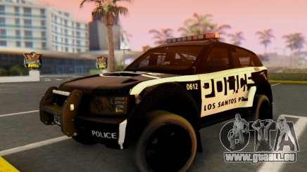 Bowler EXR S 2012 v1.0 Police pour GTA San Andreas