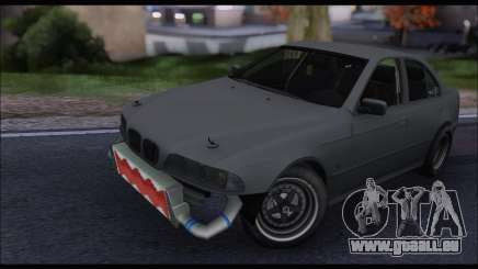 BMW e39 Drag Version pour GTA San Andreas