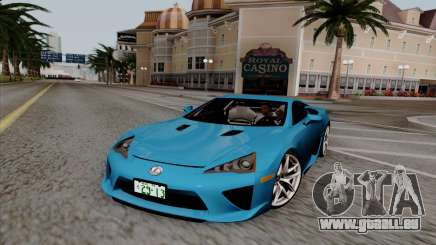 Lexus LF-A 2010 pour GTA San Andreas