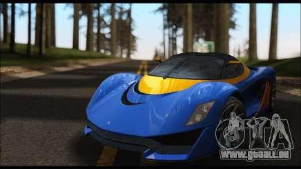 Grotti Turismo R v2 (GTA V) pour GTA San Andreas