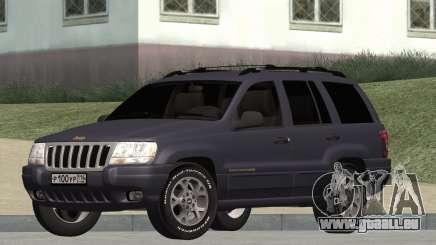 Jeep Grand Cherokee WJ pour GTA San Andreas